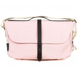 Brompton Shoulder Bag - Cherry Blossom - stock photo