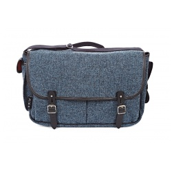 Brompton Game bag, Storm Grey Tweed - stock photo