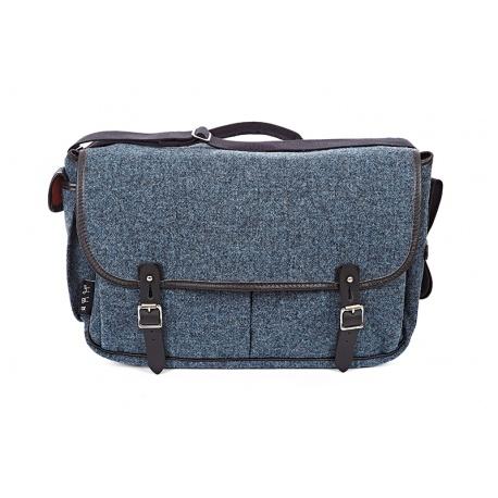 Brompton Game bag, Storm Grey Tweed - stock photo
