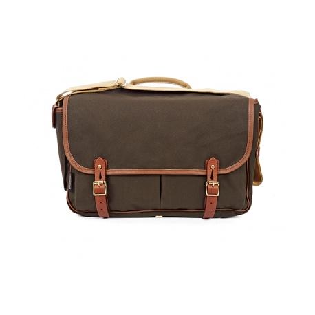Brompton Game bag, Peat Green - stock photo