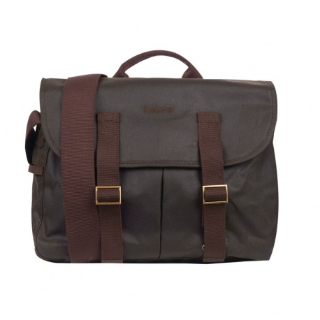 Barbour Brompton Tarras bag, Olive Green - stock photo