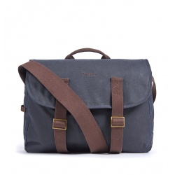 Barbour Brompton Tarras bag, Navy Blue - stock photo