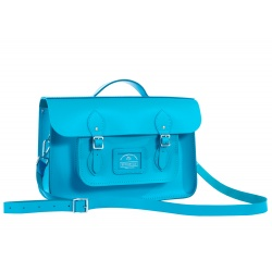Brompton Cambridge Satchel, Pembroke Blue