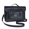 Brompton Cambridge Satchel, Navy Blue