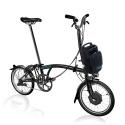 Brompton Electric H2L folding bike - Black