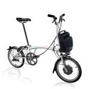 Brompton Electric M2L folding bike - White
