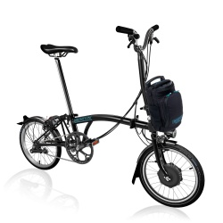 Brompton Electric H6L folding bike - Black