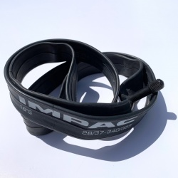 Brompton 16 inch inner tube by IMPAC showing tube size - 2019 model