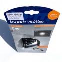 Busch + Muller Cyo IQ Senso Plus 60 Lux dynamo light - chrome