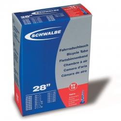 Inner tube 28 x 3/4 to 28 x 1 inch from Schwalbe - SV15 - presta valve