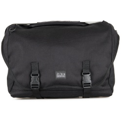 Brompton Metro bag - large - black - stock photo, front view