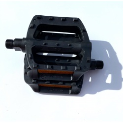 Brompton non-folding pedals for B75 (Pair) - Black