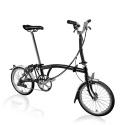 Brompton M6L folding bike - Black