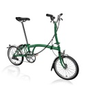 Brompton M6L folding bike - Racing Green - 2020 model