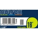 Nutrak 16 x 1 3/8 inch Inner tube for Brompton folding bikes