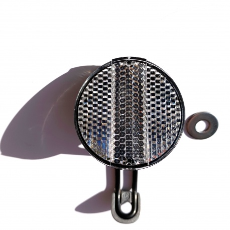 Front reflector including bracket for your Brompton - new Wire form version - 2019 on model