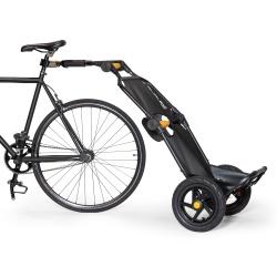 Burley Travoy bike trailer black