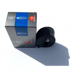 Inner tube 18 x 1.5 - 1.75 inch / 18 x 1 3/8 from Schwalbe - SV5 - Presta type valve