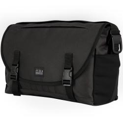 Brompton Metro bag - medium - black - stock photo