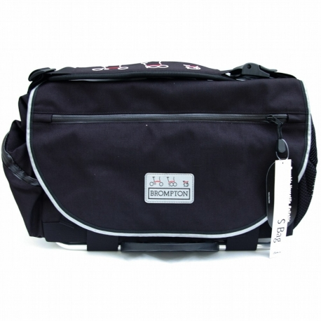 Brompton S bag, complete with frame, strap and cover - 2010 model