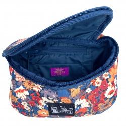 Brompton Metro Pouch - Liberty Print - open bag showing Liberty label