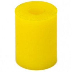 Rear Elastomer - Soft / yellow - for Riese and Muller Birdy / Frog - stock photo