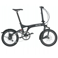 Birdy Folding Bike - City - Graphite Matt from Riese and Muller