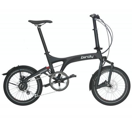 Birdy Folding Bike - City - Graphite Matt from Riese and Muller