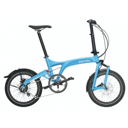 Birdy Folding Bike - City - Cyan from Riese and Muller