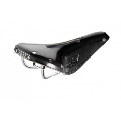 Brooks B17 Narrow Carved Saddle - Black (stock image)