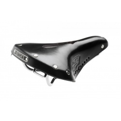 Brooks B17 Carved Short / Ladies Saddle - Black - stock photo