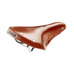 Brooks B17 Carved Short / Ladies Saddle - Honey