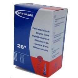 """Schwalbe 26 x 1.5 - 2.5 """" inner tube for mountain bike presta valve"""