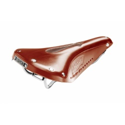 Brooks B17 Carved Saddle - Honey