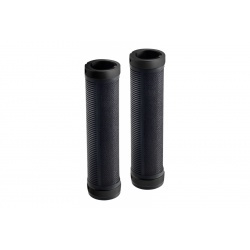Brooks Cambium rubber grips - Black/Black (130mm) - stock photo
