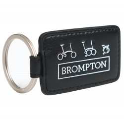 Brompton Key Fob - Black - Stock Photo