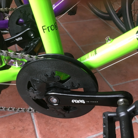 Frog Crank Set - 52 and 55 - 114mm