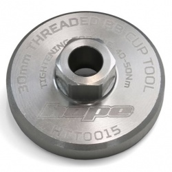 Hope 30mm Threaded BB Cup Tool - Silver - stock photo