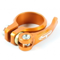 Hope 28.6mm Orange QR seat clamp - stock photo