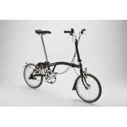 Brompton mudguard set for L version bike, steel stays, complete