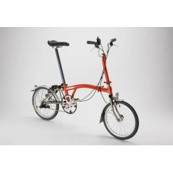 Brompton mudguard set for L version bike, TITANIUM stays, complete
