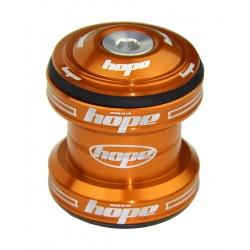 Hope Traditional Headset Complete - 1 1/8 - Orange - stock photo