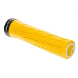 Ergon GA2 Handlebar Grips - Yellow Mellow - stock photo
