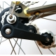 Brompton chain tensioner assembly for bikes WITHOUT a derailleur - on bike