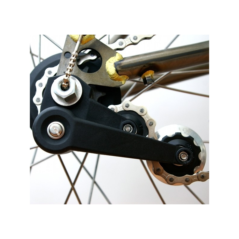 how to change gear bicycle to dingle spped