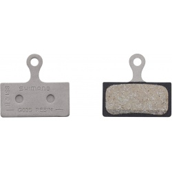 Pair of BR-M666 resin pads, G03S and spring - stock photo