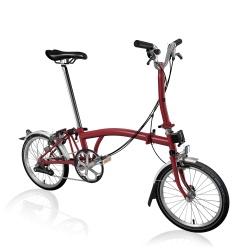 Brompton M6L House Red folding bike