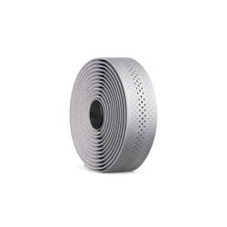 Fizik TEMPO silver road handlebar tape - rolled - stock image