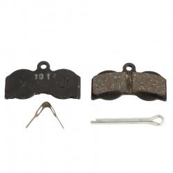 Hope XC4 brake pads, Standard compound, Black, Pair - stock photo