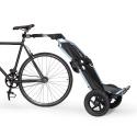 Burley Travoy bike trailer - Cool Grey